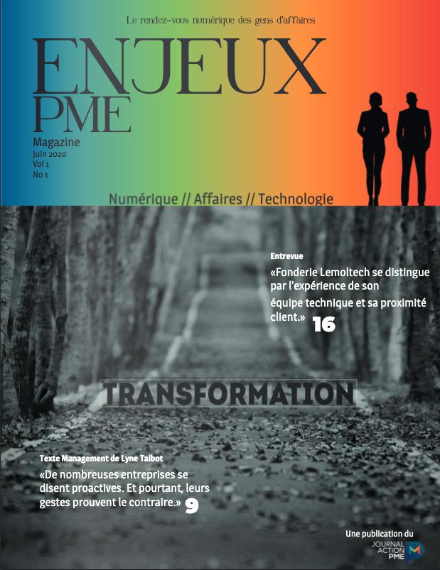 Magazine Enjeux PME