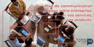 Plan communication pour PDF