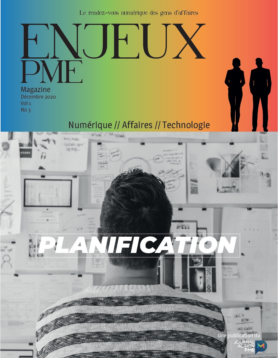 Magazine ENJEUX PME décembre 2020